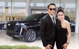 Koenigsegg Regera chưa về, đại gia thẩm mỹ Hoàng Kim Khánh sắm liền Cadillac Escalade giá 12 tỷ đồng để xuyên Việt với vợ sau giãn cách