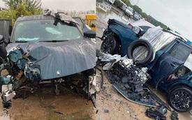 'Maserati Trung Quốc' Dongfeng T5 EVO gặp sự cố trong lúc chạy 120km/h, cộng đồng mạng 'há hốc' khi thấy thiệt hại sau tai nạn