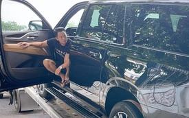 Doanh nhân Hoàng Kim Khánh nhận bàn giao 'khủng long' Cadillac Escalade giá khoảng 12 tỷ đồng