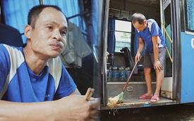 Tài xế, tiếp viên không tiền lấy xe buýt làm nhà suốt mùa dịch: '4 tháng qua chú không có việc gì, chú chỉ ngồi đợi thôi'