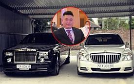 Dàn xe vang bóng một thời của 'Bầu' Thụy đang đỡ đầu Hồ Văn Cường: Rolls-Royce, Maybach có cả đôi, biển số nhìn là thấy nể