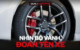 [Quiz] 10 thiết kế mâm xe thử thách trí nhớ của tín đồ xế hộp: Xe số 4 là một 'huyền thoại' tại Việt Nam