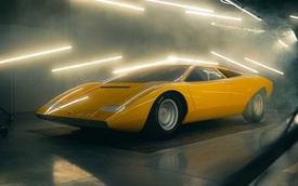 Lamborghini mất 25.000 giờ làm việc để phục chế mẫu xe huyền thoại - Countach LP 500
