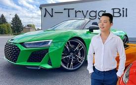 Đẳng cấp chơi xe của đại gia lan Sài Gòn: Sắm đồ độ hàng trăm triệu nâng cấp Audi R8 Spyder mạnh nhất Việt Nam dù xe chưa về tới tay