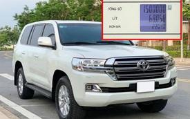 Chủ xe Toyota Land Cruiser tiết lộ gây shock: 'Đổ 1,5 triệu tiền xăng đi 4 ngày là hết, đường Hà Nội tiêu thụ 25L/100km'