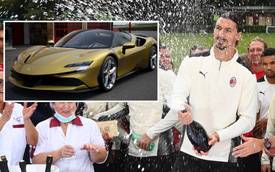 Đến hẹn lại lên: Ibrahimovic tự tặng cho mình một chiếc Ferrari SF90 Stradale trong ngày sinh nhật
