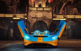 Siêu phẩm không kính McLaren Elva bất ngờ lộ ảnh 'thả dáng' tại Hà Nội, kết thúc hành trình vòng quanh thế giới