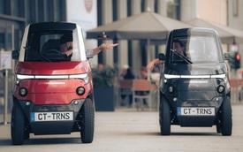 Ô tô điện tí hon thiết kế cực dị, 'biến hình' khi cần tìm chỗ đỗ xe, sạc đầy pin đi 180km