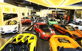 Bên trong showroom khét tiếng chuyên bán hyper-car cho đại gia Việt: Có phòng 'bạch kim' toàn xe khủng, từng chiếc được lau chùi 2-3 lần mỗi ngày, khách hàng siêu VIP được dâng xe đến tận nhà
