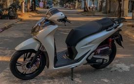 Honda SH độ cặp phuộc sau độc đáo tại Đà Nẵng