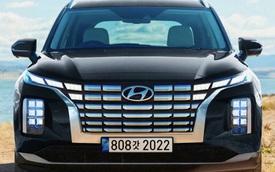 Hé lộ Hyundai Palisade 2022: Đầu xe Tucson phóng to, có thể mượn cần số quả cầu pha lê của Genesis GV60