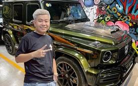 Có cả dàn siêu xe chưa thoả mãn, CEO 9X ngành mỹ phẩm sắm thêm Mercedes-AMG G 63 độ Brabus hàng hiếm tại Việt Nam