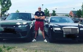 Chơi xe kiểu triệu phú quyền anh: Mua siêu xe đôi với bạn thân, sắm Range Rover cho hết buồn, nhưng thích lái Transit hơn Ferrari