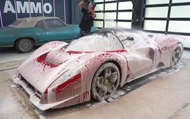 Quá trình 'mông má'  Ferrari P4/5 độc nhất thế giới: Lau chùi từng li từng tí, 3 người làm việc tỉ mẩn trong hai ngày