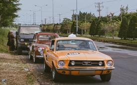 Loạt xe cổ cực hiếm xuống phố ở Sài Gòn
