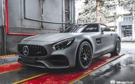 Mercedes-AMG GT Roadster độc nhất Việt Nam 'lột xác' đón Tết