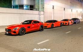 Bộ ba siêu xe đỏ hội ngộ tại Sài Gòn, hai trong ba chiếc đều thuộc sở hữu của Tống Đông Khuê