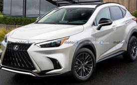 Xem trước thiết kế của Lexus NX 2022 - Đối thủ nặng ký của Mercedes GLC và Audi Q5