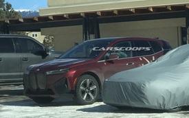 """SUV chạy điện của BMW lộ diện trên đường thử: Kích thước lớn như """"đàn anh"""" BMW X5"""