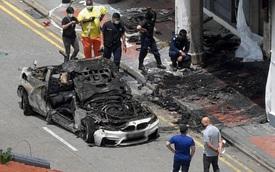 Người phụ nữ xả thân cứu bạn trong chiếc xe hơi bốc cháy ngùn ngụt