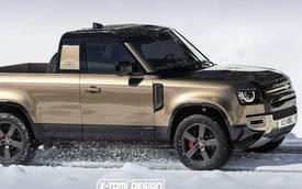 Land Rover Defender sẽ có phiên bản bán tải - Liệu có bước vào vết xe đổ X-Class?