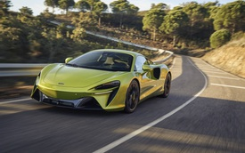 Siêu phẩm McLaren Artura công bố thông số khủng, giá quy đổi từ 5,2 tỷ đồng