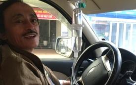 NS Giang Còi gây hoang mang khi lái xe trong lúc truyền nước, hé lộ tình trạng sức khoẻ sau chia sẻ bị ung thư