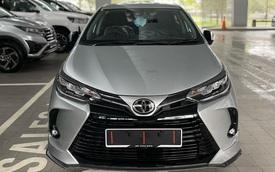 Toyota Vios 2021 về đại lý trước ngày ra mắt: Giao xe từ 24/2, 'bom tấn' đầu năm đe dọa Hyundai Accent và Honda City