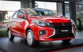 Ra mắt Mitsubishi Attrage Premium 2021 tại Việt Nam: Giá 485 triệu, thêm 7 trang bị mới tập trung vào an toàn, có điểm vượt Toyota Vios