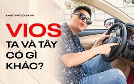 Toyota Vios 2021 tại Việt Nam bị cắt nhiều thứ nhưng lại có 1 chi tiết không đâu trên thế giới có