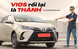 Đánh giá nhanh Toyota Vios 2021 G: Đây sẽ là bản được khách cá nhân mua nhiều nhất