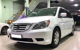 Được chủ nhân giữ như mới, xe gia đình Honda Odyssey vẫn rẻ hơn Mitsubishi Xpander 150 triệu đồng