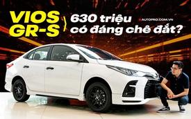 Hơn 50 triệu, Toyota Vios GR-S không chỉ khác Vios G ở ngoại hình mà còn 6 thứ mới lạ ít ai biết