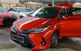 Toyota Vios 2021 mở đặt cọc tại Việt Nam: Bản nâng cấp với phần đầu như Lexus, sẽ ra mắt sau Tết