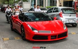 Ferrari 488 GTB từng của Nguyễn Quốc Cường bất ngờ xuất hiện tại Sài Gòn với diện mạo mới lạ