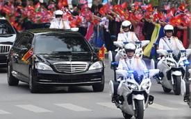 Chuyện những sĩ quan lái mô tô hộ tống bảo vệ yếu nhân