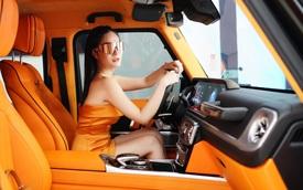 Nữ 'chơi' Mercedes-AMG G 63 đã hiếm, ca sĩ Đoàn Di Băng còn chi tiền tỷ độ xe để làm cặp với McLaren 720S Spider