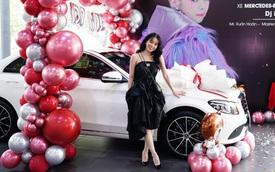 Sau tin đồn chia tay, DJ Mie và diễn viên Hồng Thanh sắm ngay cặp Mercedes-Benz C-Class giá gần 4 tỷ chơi Tết