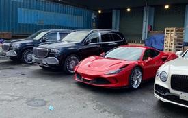 Dàn xe gần 100 tỷ về nước ngay trước Tết Nguyên đán phục vụ giới đại gia Việt: Cặp đôi Mercedes-Maybach GLS 600 chiếm 'spotlight'