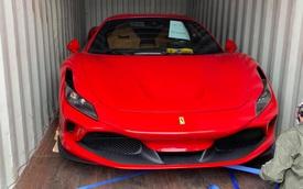 Ferrari F8 Tributo thứ 3 vừa về Việt Nam với diện mạo giống xe Nguyễn Quốc Cường đã có chủ đón về chơi Tết