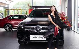 Diễn viên Minh Hằng tậu Mercedes GLS 450 giá 5 tỷ đồng chơi Tết, có một chi tiết khác biệt với số đông