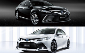 Đã bán chạy nhất, Toyota Camry lại còn thêm bộ kit này thì hết bài