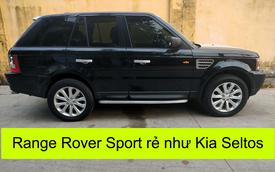 Vượt ngưỡng 100.000km, Range Rover Sport rớt giá rẻ ngang Kia Seltos 2021