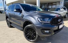 Ford Everest Sport 2021 ra mắt giá 1,1 tỷ đồng: Phiên bản mới 'đe nẹt' doanh số Toyota Fortuner, Mitsubishi Pajero Sport