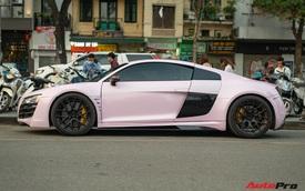 Audi R8 cực độc của đại gia Hà Thành trở nên nữ tính hơn nhờ chi tiết này