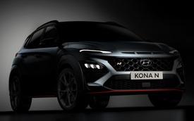 Hyundai Kona N cho dân mê tốc độ hé lộ hé lộ nhiều chi tiết như xe đua, có chế độ phấn khích giống trên xe Porsche