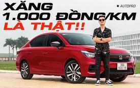 Đánh giá Honda City RS sau 1 tháng: 1.000 đồng/km tiền xăng có thật? Còn gì cần cải thiện?