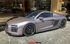 Vừa mua Audi R8, CEO 9x Tống Đông Khuê đã 'lột xác' chiếc siêu xe để tạo cá tính