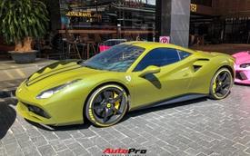 Vừa tậu Ferrari 488 GTB màu độc, đại gia chơi mô tô đình đám An Giang liền mang đi 'phượt' với hội Evo Team
