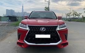 Bán Lexus LX 570 'trẻ hoá' 12 tuổi giá 2,6 tỷ, chủ xe tiết lộ tiền đồ đủ mua Toyota Vios 'đập hộp'